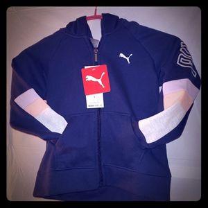Puma Girls hoody jacket